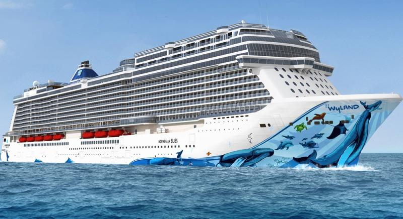 Norwegian Bliss Our Alaska Cruise Ship